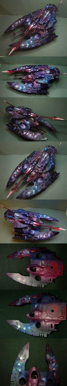 40k - 'Dark Crystal' Eldar Fire Prism by hors