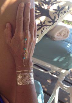 Flash Tattos and bracelet by Vanessa Lety