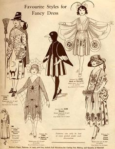 vintage halloween costumes - just because I thought you'd like them H
