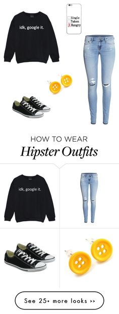 """""""Relaxed look"""" by toty1008 on Polyvore featuring H&M and Converse"""