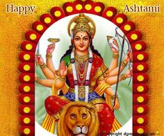 Warm wishes on Ashtami from dgreetings.