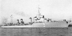 Kersaint (9) French Destroyer 1931