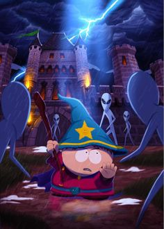 South Park The Stick of Truth - played this game twice thru now, its so fun. I love how it parodies all the popular RPGs
