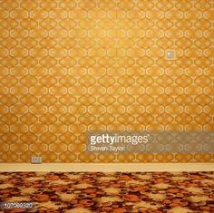 Stock Photo : 1970s room