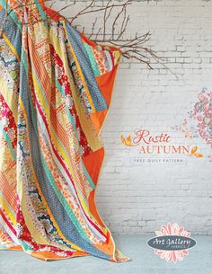 Rustic Autumn--free quilt pattern