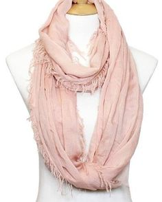 This lovely blush scarf is now being sold on Elenity.com 50% of each purchase goes toward the charitable cause of the month! :)
