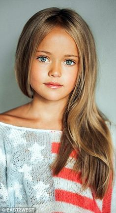 World's most beautiful girl Kristina Pimenova's mother defends pictures | Daily Mail Online