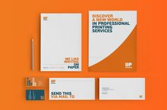 Full rebranding for Uppress S.A., one of the biggest printing companies in Athens, Greece.