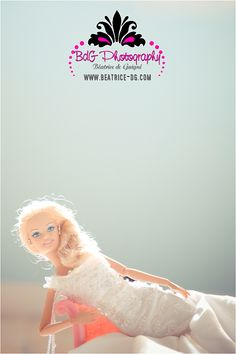 Just follow this pictorial for Barbie's Dream Wedding and you should be fine!!!