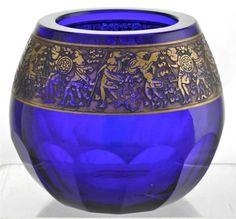 Beautiful-Bohemian-Moser-Karlsbad-Vase-in-Cobalt-Blue