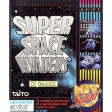 Super Space Invaders for Commodore Amiga from Taito/Domark/The Hit Squad