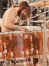 Led zeppelin/John Bonham at Kezar Stadium June 2 1973.