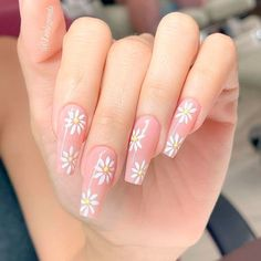 Lovely Flowery Coffin Nails ❤ 35+ Magnificent Coffin Nails Designs You Must Try ❤ See more ideas on our blog!! #naildesignsjournal #nails #nailart #naildesigns #nailshapes #coffinnails #balerinanails #coffinnailshapes