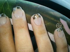 Camoflauge Nails...I wanna get this done