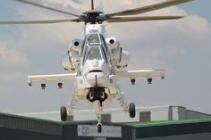 The Rooivalk Combat Helicopter is Designed & Built by Denel Aviation.