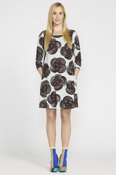 Marimekko Klupukukka Dress Grey