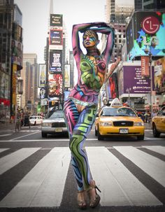 ... nyc forward the artists of nyc bodypainting day 2015 bodypainting day