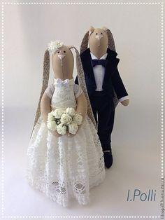 Куклы Тильды ручной работы. Ярмарка Мастеров - ручная работа. Купить Wedding. Handmade. Свадьба, подарок молодоженам