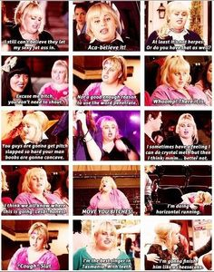 Fat Amy ~ Pitch Perfect love her and this show! Fat Amy Quotes, Tv Quotes, Movie Quotes, Funny Quotes, Plus Tv, Lol, Book Tv, Great Movies, Awesome Movies
