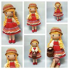 Amigurumi Doll Free Pattern —Amigurumi doll crochet free pattern Amigurumi Doll, Free Crochet, Free Pattern, Diy Ideas, Crochet Patterns, Dolls, Christmas Ornaments, Holiday Decor, Doll Patterns