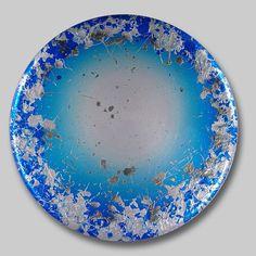 "Courting Kaos: Paradiso  Benini 2006 36"" diameter  #art #contemporaryart #roundpaintings#abstractart #Benini #interiordesign#abstractpainting #tondo #abstractartwork"