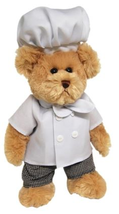 chef Teddy Bear -