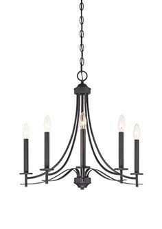 Designers Fountain 86985-BBR Cassina 5 Light Chandelier
