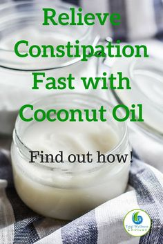 Learn How to Use Coconut Oil for Constipation Relief! There are several natural remedies for constipation, but this post is going to focus on how to use coconut oil for constipation relief. Constipation is quite Olive Oil For Constipation, Essential Oils For Constipation, Cure For Constipation, Constipation Smoothie, Newborn Constipation, Constipation Relief For Toddlers, Relieve Constipation Instantly, Natural Health Remedies, Natural Cures