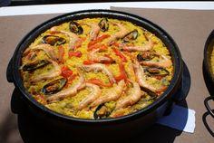 Concurso de paellas en el #camping de #Isla #Cantabria  #Spain