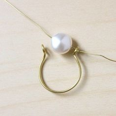 Wire Wrapped Pearl Ring-14 #wirewrappedringsideas