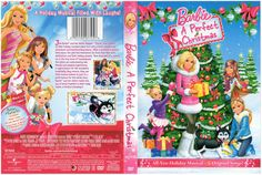 2010 - 2011 Barbie DVD Movie Cover - A Perfect Christmas with sisters Skipper, Stacie and Chelsea American Girl Doll Movies, American Girl Crafts, American Girls, Doll House Crafts, Doll Crafts, Doll Houses, Ag Dolls, Girl Dolls, Barbie Dolls