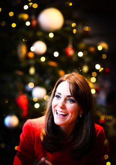 Catherine, Duchess of Cambridge attends the Anna Freud Centre Christmas Party // December 15, 2015
