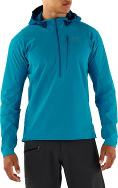 Arc'teryx Male Psiphon Sl Soft-Shell Pullover Jacket - Men's