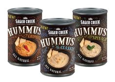 Sager Creek Canned Humus Spread