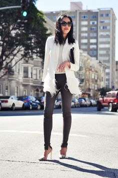 9to5Chic: love the jacket