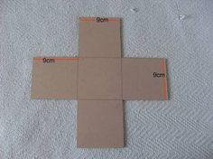 molde de caixa quadrada - Pesquisa Google