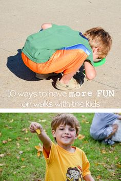 10 Ways to Get More From Walks with Children