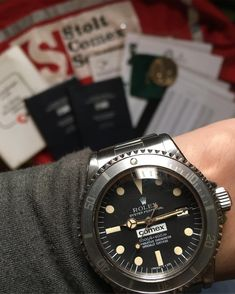 """Collect Only The Best"" (@kkevalll) on Instagram: "" Just landed my COMEX 1665 1st series ~ complete COMEX document, diver log book, diver…"""