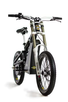 The EMX is an electric motorcross-inspired bicycle