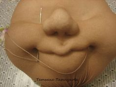 MK from Tatyana Parshukova. Discussion on LiveInternet - Russian Online Diaries Servicehow to needlesculpt a doll mouthSculpt a face Mary Mcdonald, Crochet Penguin, Russian Online, Online Diary, Breath In Breath Out, Doll Face, Stuffed Toys Patterns, Hobby, Bag