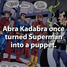 DC facts. Superman Batman Flash Justice League. For more such things subscribe our website :)