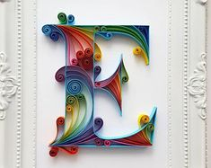 Handmade quilling cards by Gericards Quilling Set, Ideas Quilling, Quilling Letters, Paper Quilling Designs, Quilling Cards, 3d Paper Art, Quilled Paper Art, Quilling Paper Craft, Paper Crafts
