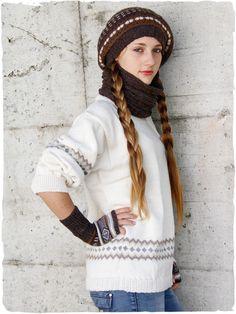 Cappello, guanti, scaldacollo e maglione unisex #modaetnica #ethnicalfashion #alpacaswhool #lanadialpaca #peruvianfashion #peru #lamamita #moda #fashion #italianfashion #style #italianstyle #modaitaliana #lamamitafashion