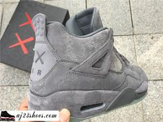 "save off 0d23f e33ad ATHENTIC KAWS X Air Jordan 4 ""Cool Grey"" from aj23shoes.com Kik"