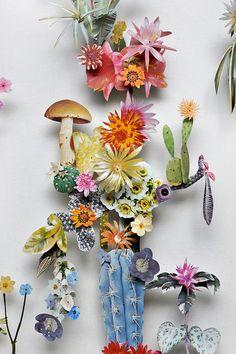 L'art de créer des fleurs