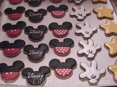 Disney themed cookies...for your party @Keith Harshbarger?