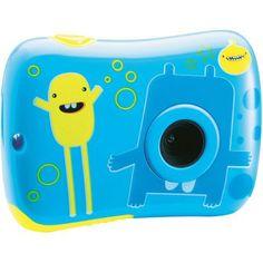 Appareil photo numérique Bleu  - marque : Rk Et Rok Les petits peuvent désormais prendre leurs propres photos et vidéos grâce à lappareil photo numérique de Rik & Rok !... prix : 19.99 EUR €  chez Auchan Jeux et Jouets #RkEtRok #AuchanJeuxetJouets