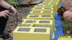 15 πρωτότυπες ιδέες για να χρησιμοποιήσετε τους τσιμεντόλιθους στη διακόσμηση του σπιτιού ή του κήπου σας