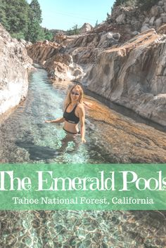 Tahoe National Forest& best kept secret: The Emerald Pools - The Break of D . - Tahoe National Forest& best kept secret: The Emerald Pools – The Break of D … - State Parks, Travel Photographie, Destination Voyage, Vacation Places, Vacation Rentals, Fun Places To Travel, Vacation Ideas, Grand Teton National Park, National Parks Usa