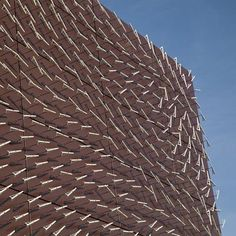 Secret Wind Patterns Revealed by Kinetic Facade (Video) : TreeHugger